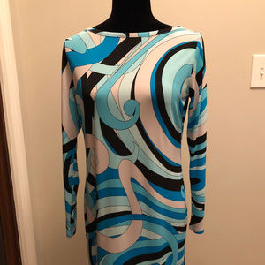 MIchael Kors Geometric print dress